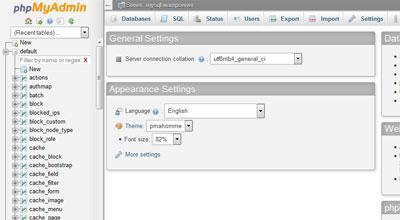 MYSQL Database Image